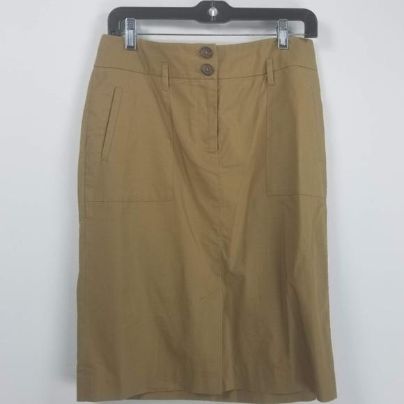Banana Republic Dresses & Skirts - Banana republic pencil skirt size 6 tan